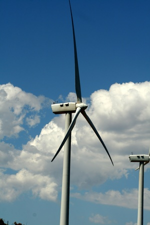 turbin: Wind Mill Stock Photo