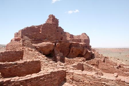 flagstaff: Indian Ruins near Flagstaff Arizona.