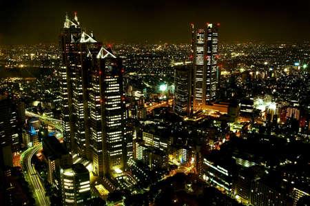 panorama city panorama: noche de la ciudad