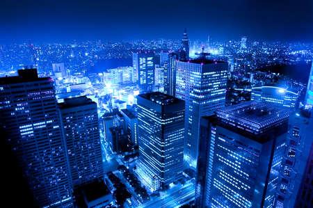 city by night: japan night