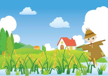 scarecrow: Granja y Espantap�jaros