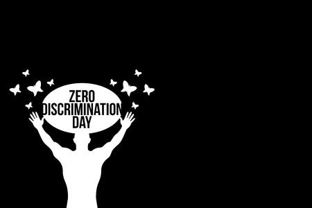 Zero Discrimination Day Illustration