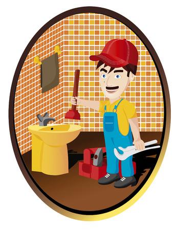 washbowl: plumber