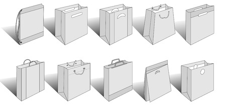 3ds: packaging items version 3 Illustration