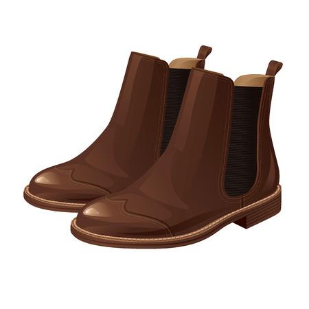 Chelsea boots Stockfoto - 44193403