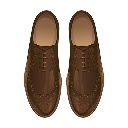 Classic shoes. Oxford shoes