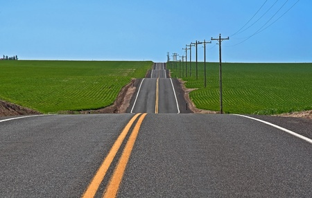 bumps: This rural photo is full on conceptual ideas, it