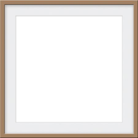 Bronze square frame with an eggshell colored matt with room for custom picture or text for a mockup template.