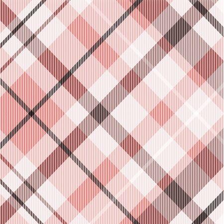 Patrón de sarga a cuadros en textura diagonal coral y marrón, melocotón, rosa en colores de moda modernos. Elemento de diseño gráfico en 12 x 12 ideal para papel digital, álbumes de recortes digitales y otros proyectos gráficos.