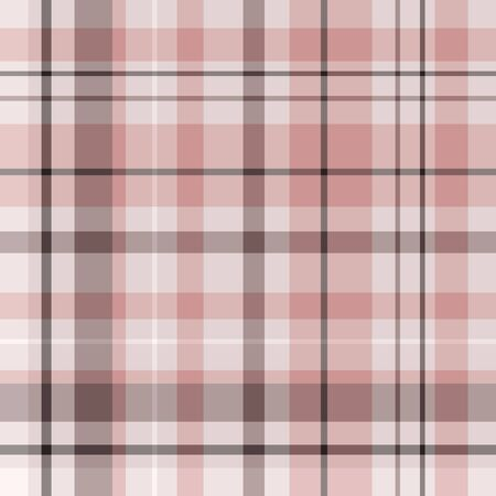 Plaid pattern background texture modern colors coral and brown, peach, pink in modern trendy colors. Graphic design element in 12x12 great for digital paper, digital scrapbooking and other graphic projects.