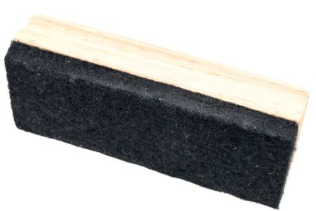 brush erase isolated on white background Stok Fotoğraf