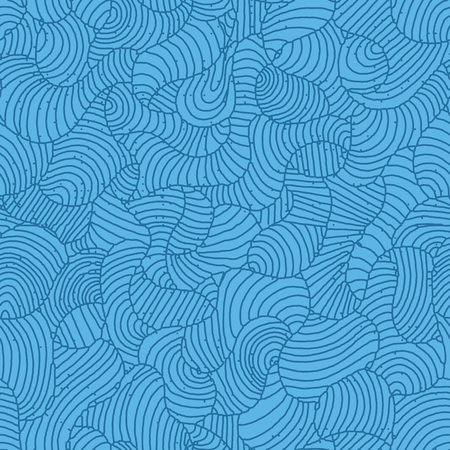 Artistic abstract organic hand drawn line art seamless pattern. applicable for background, wallpaper and other decorative purpose such textile and clothing.