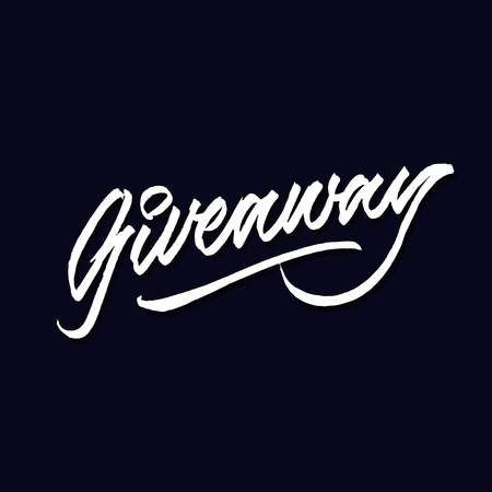 giveaway hand lettering typography sales and marketing shop store signage poster