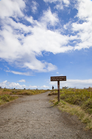 Hawaiis Big Island lava landscape