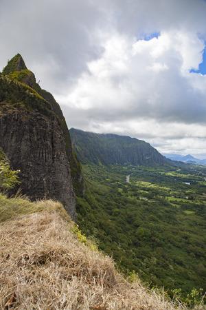 Natural landscape of the island of Hawaii 版權商用圖片 - 61955392