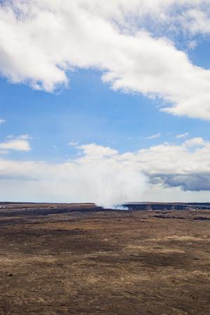 Hawaii's Big Island lava landscape