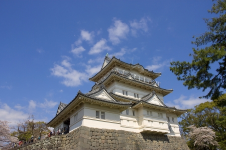 odawara: Main keep of Odawara castle, Japan  National Historic Site