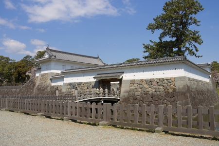 Akagane gate of Odawara castle, Japan  National Historic Site Stock Photo - 15246484