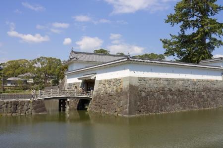 odawara: Akagane gate of Odawara castle, Japan  National Historic Site Editorial