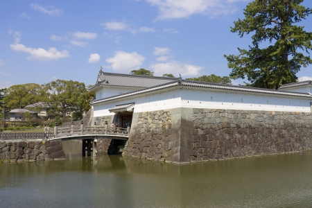 hojo: Akagane gate of Odawara castle, Japan  National Historic Site Editorial