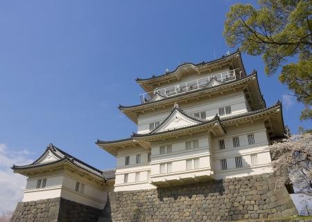 Main keep of Odawara castle, Japan  National Historic Site Stock Photo - 15246509