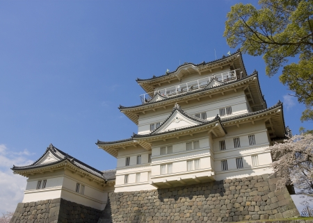 Main keep of Odawara castle, Japan  National Historic Site Stock Photo - 15246509