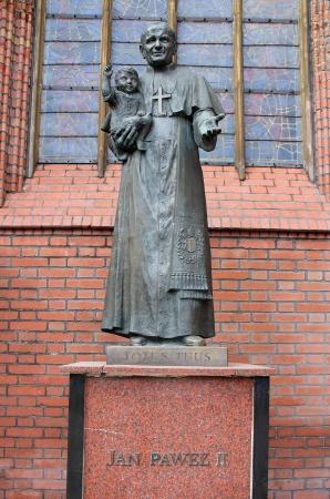 paulus: Monument in honor of Pope John Paul II in Gdansk, Poland