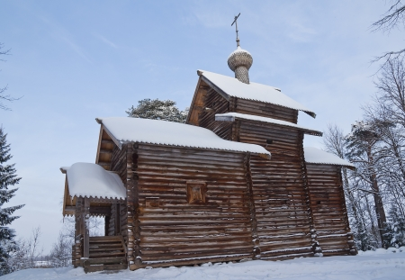 nicolas: Ancient church of St  Nicolas built 1688  Vitoslavlitsy open-air museum of wooden architecture  Novgorod the Great, Russia