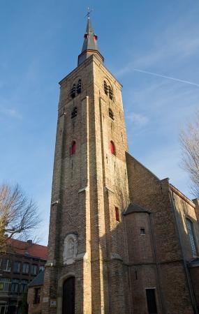 belgie: St  Anne s Church  Sint-Annakerk, circa 1621   Historic center of Bruges