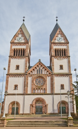 Holy Trinity Orthodox church (circa 1908) in Offenburg town, Baden-Wurttemberg, Germany