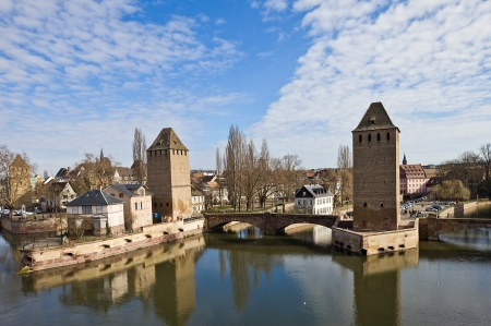 henry: Covered Bridges with Hans von Altenheim Tower and  Henry Tower (circa 1230).