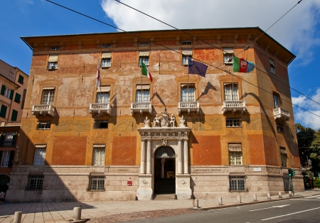 Palazzo Doria-Spinola  circa 1543   UNESCO world heritage site  Nowadays serves as offices of the Prefecture and the Province of Genoa  Genoa, Italy
