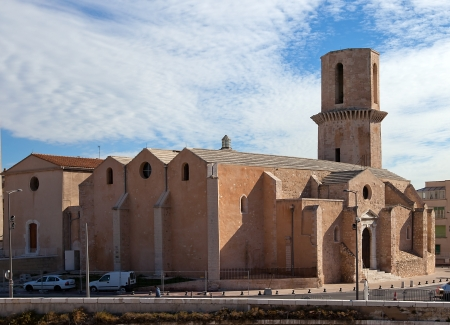 laurent: Church of Saint Laurent  founded in XII c , current view since XVII c    Marseilles, France