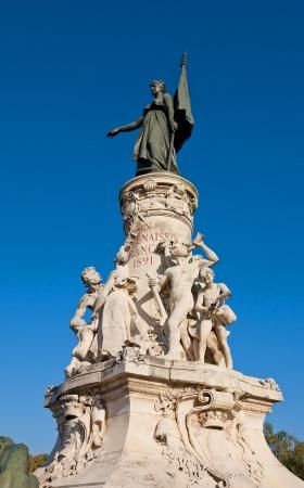 annexation: Monument  1891  commemorating one century of Comtat Venaissin region annexation by France  Sculptor Felix Charpentier  Avignon, France