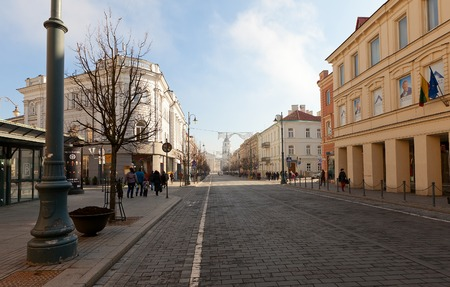 duke: Gediminas Avenue  named after Grand Duke of Lithuania Gediminas  – the main street of Vinius, where most of the governmental institutions of Lithuania are concentrated  Also the main shopping and dining street