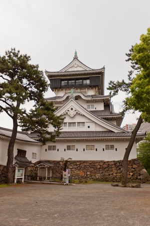 besiege: Kokura Castle in Kitakyushu Japan. Was built by Hosokawa Tadaoki in 1602 reconstructed in 1959