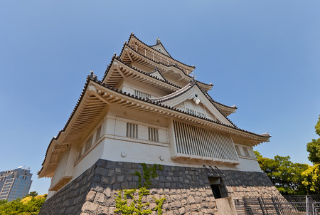 besiege: CHIBA, JAPAN - MAY 26, 2015: Chiba castle, local folk museum in Chiba, Japan. Built in 1967 on the sait of former Chiba castle ruined in XV c. Editorial