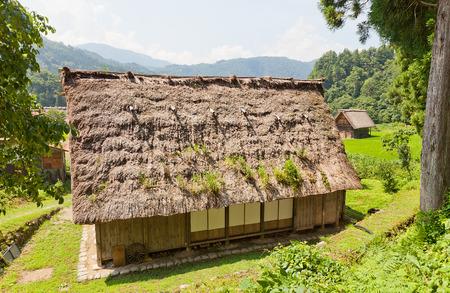 ogimachi: OGIMACI, JAPAN - AUGUST 01, 2016: National Trust Heritage Center (former Matsui family residence) in Ogimachi gassho style village of Shirakawa-go district. World Heritage Site of UNESCO