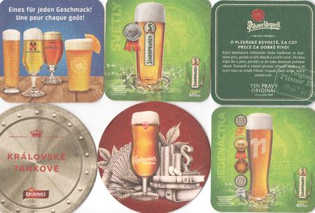 PRAGUE, CZECH REPUBLIC - DECEMBER 20, 2017: Beermats (bierdeckel) background. Various beer trademarks