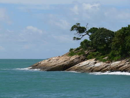 Koh Samet shore, Thailand Stock Photo - 10739455