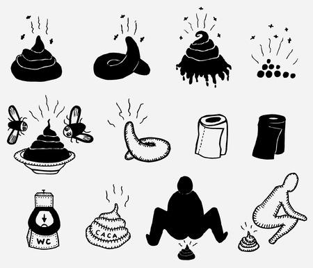 muck: Illustration of a set