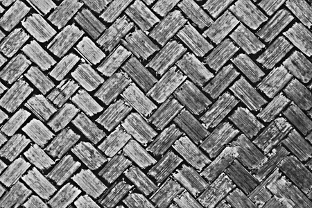 It is Woven bamboo texture for pattern and background. photo