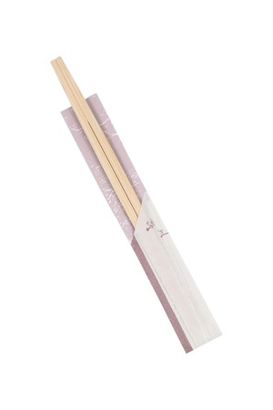 chop stick: It is Chop sticks isolated on white. Stock Photo