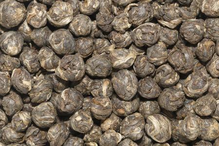 pearl tea: It is Dry Jasmine pearl tea for pattern.