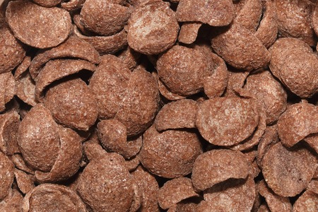 chocolate cereal: It is Chocolate cereal for pattern. Stock Photo
