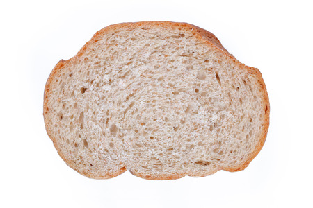 whole wheat bread: It is Sliced whole wheat bread isolated on white.