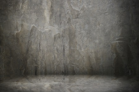 It is Cement wall and floor. Stock Photo