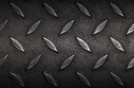 it is design on steel with shadow for pattern and background.