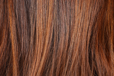 blond streaks: it is hairstyle for pattern and background.
