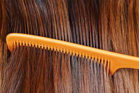 it is hair cleaning by comb for pattern and background.